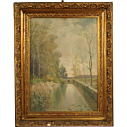 20th Century French Landscape Painting