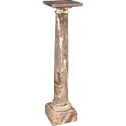 20th Century French Marble Column