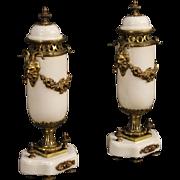 20th Century Pair Of French Potish Vases