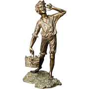 20th Century Neapolitan Bronze Sculpture