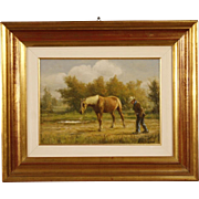 20th Century Italian Signed Landscape Painting