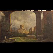 19th Century Italian Painting Oil On Canvas