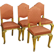 20th Century Group Of 4 Spanish Living Room Chairs