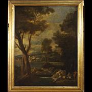 19th Century Italian Oil Painting