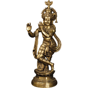 20th Century Indian Bronze Sculpture