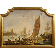 20th Century Italian Seascape Painting