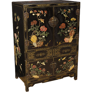 20th Century French Chinoiserie Cupboard