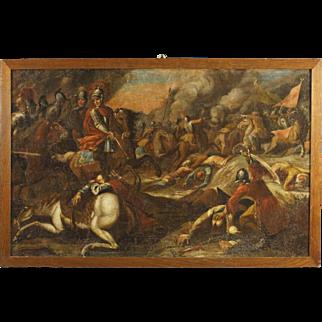 18th Century Italian Battle Painting