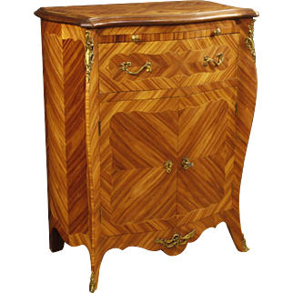 20th Century French Inlaid Sideboard In Rosewood And Maple