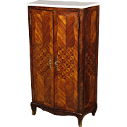 20th Century French Inlaid Cabinet