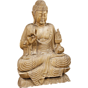 20th Century Oriental Buddha Sculpture