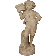 20th Century French Alabaster Sculpture