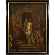 18th Century French Religious Oil Painting