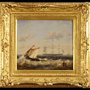 20th Century Dutch Painting Signed Moerkerken