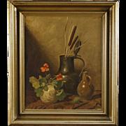 20th Century Dutch Signed Still Life Painting