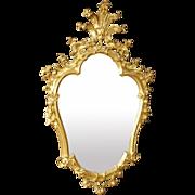 20th Century Venetian Mirror In Gilt Wood