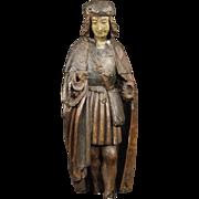 20th Century French Religious Pilgrim Sculpture