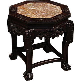 20th Century Chinese Living Room Side Table