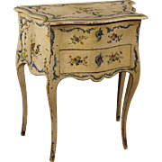 20th Century French Lacquered Side Table