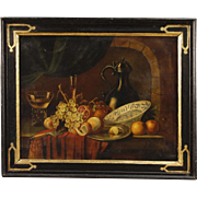 20th Century French Still Life Oil Painting