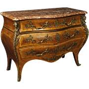 20th Century French Chest Of Drawers With Gilt Bronzes