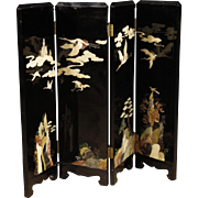 20th Century French Chinoiserie Screen