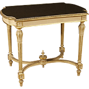 20th Century Italian Lacquered Side Table In Louis XVI Style