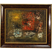 20th Century Abstract Oil Painting Signed Robert Jay Wolff