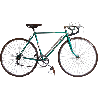 French Racing Bike. 1940/50's Hand Built Racing Bicycle.