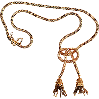 18kt Yellow Gold Necklace with Snake Link Chain Necklace