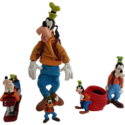 Vintage Lot of Disney Goofy Figures