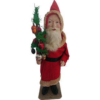 """Large German Santa Candy Container 17"""""""