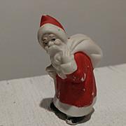 Antique Bisque German Santa Claus - Cake Decoration
