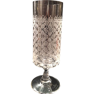 Rosenthal Crystal Red Wine Stem