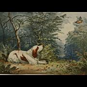 """Brittany"" Pope Alexander Chromolithograph Print"