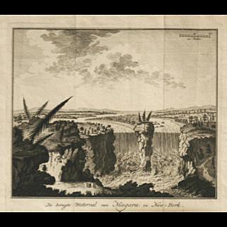 """De Berugte Waterval Van Niagara In New-York"""