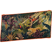 Charming Jungle Scene Needlepoint
