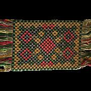 English Stump Work Carpet/Tapestry