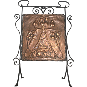 Scottish Arts & Crafts Fire Screen