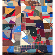 Crazy Quilt Duel Sided