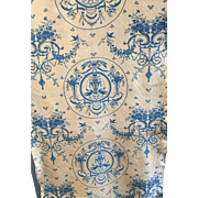 French Linen Printed Shade