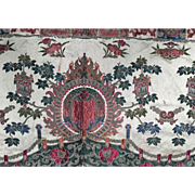 19th C. Asian Silk Brocade