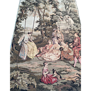 Large Family Gathering Tapestry.