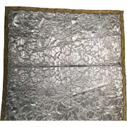 Silver Metallic Square
