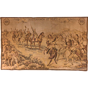 Tapestry-Brazil Independence battle