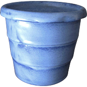Large Fulper Pottery Jardiniere, Planter, Vase, Circa 920s, Chinese Blue, Arts and Crafts Style