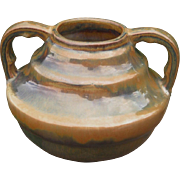 Fulper Pottery Vase, Circa 1920s, Arts and Crafts, Earth Tones