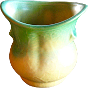 Weller Pottery Vase, Elberta Design, Vintage 1930s, Cottage Chic, Vintage American Art Pottery
