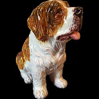 Vintage Italian dog figurine (terra cotta)