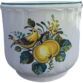 Beautiful vintage cache-pot from Villeroy & Boch